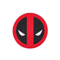 Deadpool Logo Iron-On Patch
