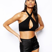 ASOS Cross Front Crop