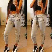 SIMPLE - Slim Fit Casual Sporty Long Sweat Pants a11171
