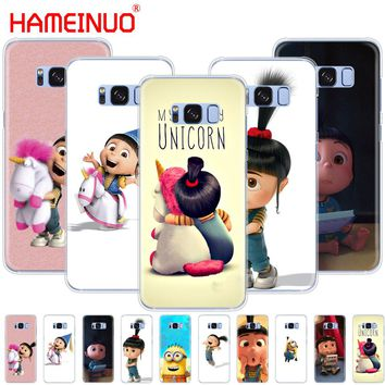 HAMEINUO My Unicorn Agnes Minions cell phone case cover for Samsung Galaxy E5 E7 Note 3,4,5 8 ON5 ON7 grand G530 2016