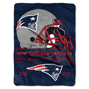 New England Patriots Prestige 60x80 NFL Blanket - Free Shipping in the Continental US!