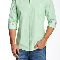 Indigo Star | Riddle Solid Long Sleeve Tailored Fit Shirt | Nordstrom Rack
