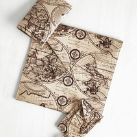 Nautical In the Palm of Your Plans Travel Set in Map by ModCloth