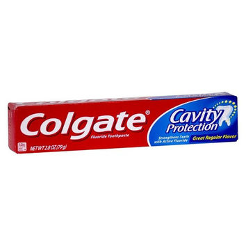 Colgate Cavity Protection Great Regular Flavor Toothpaste 3.0 oz