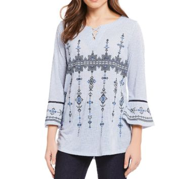 Leisurely Bell Sleeve Top by Multiples