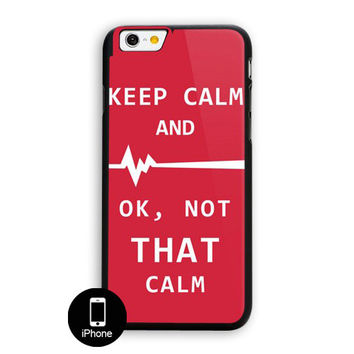 Keep Calm Hospital Night Dr Funny Medical Humor iPhone 6 Plus Case