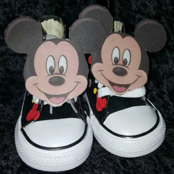 Personalized MICKEY MOUSE birthday shoe