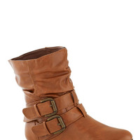 ModCloth Spruce Up Your Style Boot in Caramel