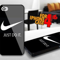 Nike Just Do It for iPhone 4 / 4s Black case