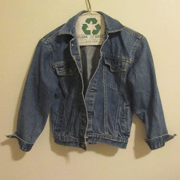 Vintage London Fog Denim Jacket