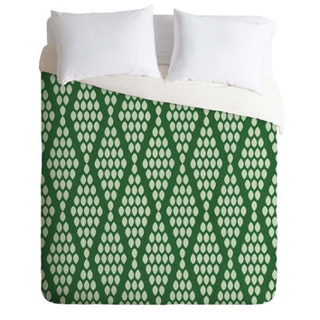 Holli Zollinger Beaded Triangle Duvet Cover