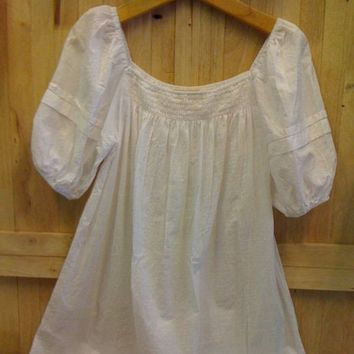 Sweet SummerPlain white smock reserved for wembly by cocoricooo