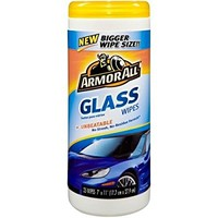 Armor All Glass Wipes, 25pc (17501B)