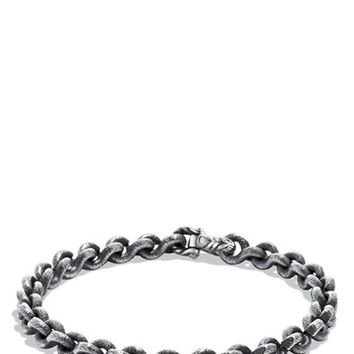 Men's David Yurman 'Petrvs' Chain Bracelet - Silver