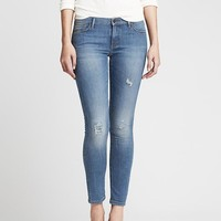 Banana Republic Womens Distressed Skinny Ankle Jean