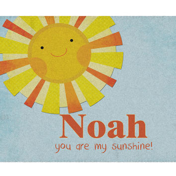 Sunshine Personalized Rug