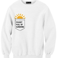 Pocket Full of Sunshine Sweatshirt | Yotta Kilo