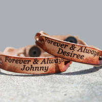 Forever & Always Custom Bracelet