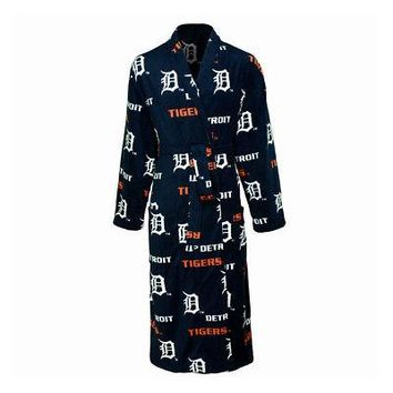 Detroit Tigers MLB 2015 Facade Mens Robe - One Size
