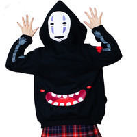 Spirited Away Punk Gothic Japanese Harajuku Sweatshirt Hoodie