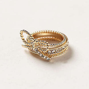 Anthropologie - Lassoed Bow Ring