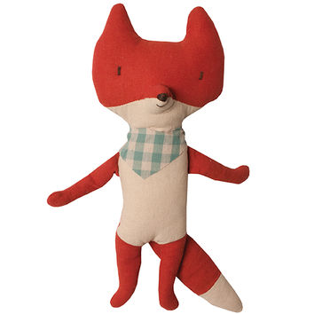 Fox Plushie with scarf