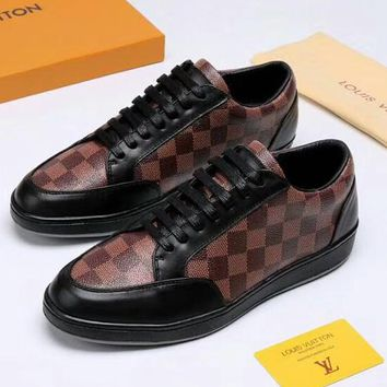 LV Louis Vuitton 2018 new men's fashion sports casual shoes low top shoes F-OMDP-GD