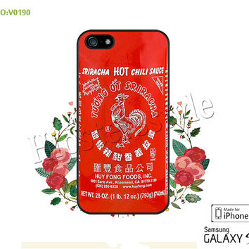 Phone case iPhone 5/5S/5C Case, Chili sauce Phone 4/4S Case, S3 S4 S5 Note 2 Note 3 Case for iPhone-B0190