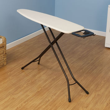 Ultra 4-Leg Ironing Board with Iron Rest, Antique bronze