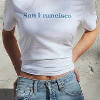 San Francisco Tee - White