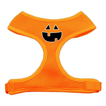 Halloween Pumpkin Dog Harness