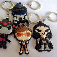 LIMITED EDITION OVERWATCH KEYCHAINS