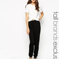 New Look Tall | New Look Tall Viscose Twill Jogger at ASOS