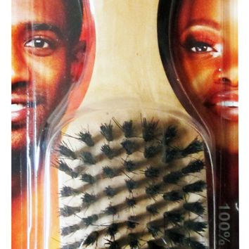 Soft Boar Bristle Hair Brush - CASE OF 24
