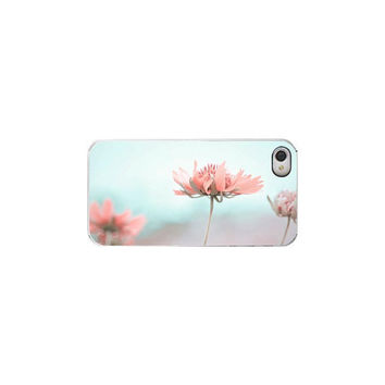 Shabby Chic Iphone Case Turquise Pastel by Maddenphotography