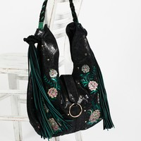 Free People Monarch Embroidered Hobo