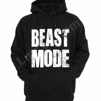 Custom clothing/custom t-shirt/custom gifts/funny shirts/Add logo picture text/Beast mood custom hoodie clothing workout