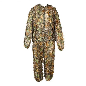 3D Camouflage Clothing Ghillie Suit for Hunting Shooter Game Marvelous