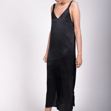Bailey Slip Maxi Dress - Black