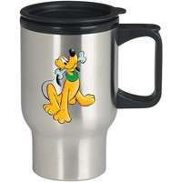 Pluto Disney For Stainless Travel Mug *