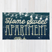 Home Sweet Apartment Rug by Jenndalyn