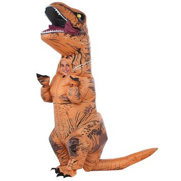 T Rex Inflatable Boys Costume