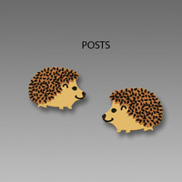Sienna Sky Earrings - Hedgehog Posts