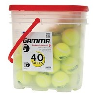 Academy - Gamma Bucket of Practice Tennis Balls 40-Pack