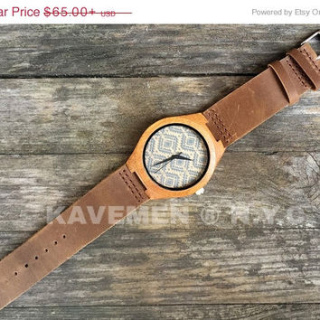 SALE Wood Watch. Mens Watch. Engrve Watch. Personalized Watch. Miami Watch. Miami Series. Kavemen