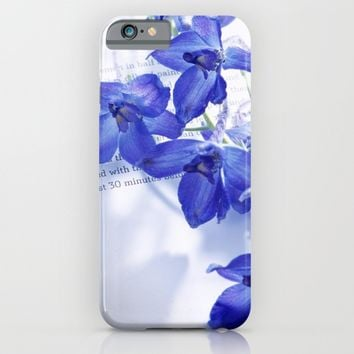 POEM AND FLOWER iPhone & iPod Case by Ylenia Pizzetti | Society6