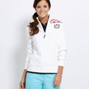 Women's Pullovers: Derby Gingham Shep Shirt for Kentucky Derby -Vineyard Vines