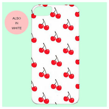 cherry iphone case,girly,cherry,5s,girl,lolita,street fashion,iphone 6,case,samsung,s4,fruit,pink red,white red,samsung galaxy s5,iphone,5c