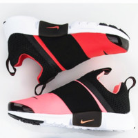 NIKE contrast Trending Fashion Casual Sports Shoes Rose red toe -white soles