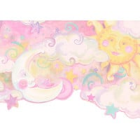 "4 Walls Whimsical Children's Vol. 1 Celestial 15' x 10.5"" Border Wallpaper"